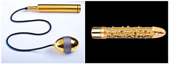 As coisas mais incomuns feitas de ouro