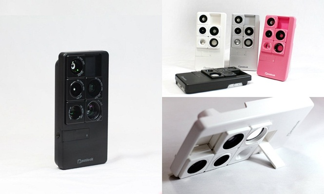 Empresa lança case para iPhone que oferece 5 lentes para a câmera