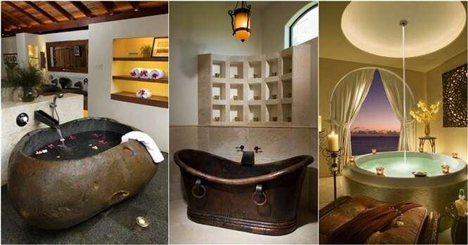Os mais impressionantes banheiras do mundo