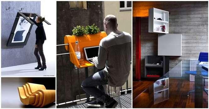 Veja os móveis que economizam espaço na casa