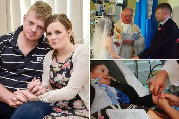 Pais descobrem que filho estava prestes a morrer e se casam em leito de hospital