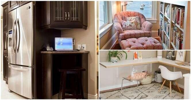 Maneiras de aproveitar os espaços inúteis de sua casa