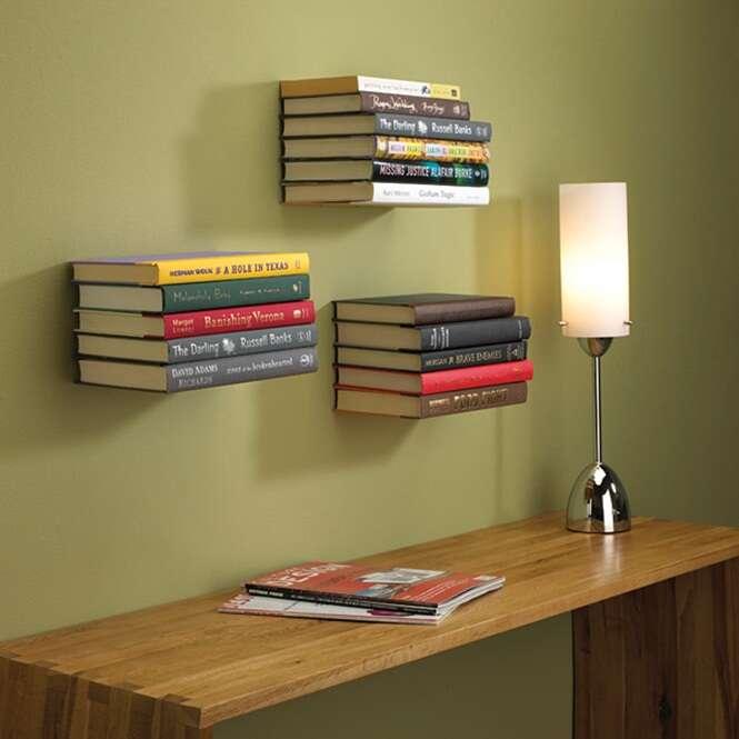 Veja formas criativas de armazenar seus livros
