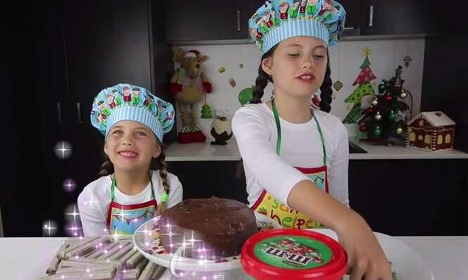 Menina fatura 300 mil reais por mês com canal de culinária no YouTube