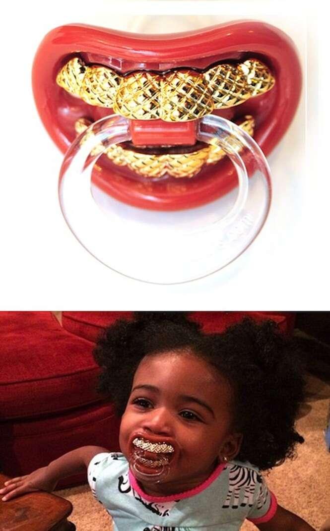 Os mais estranhos produtos para bebês