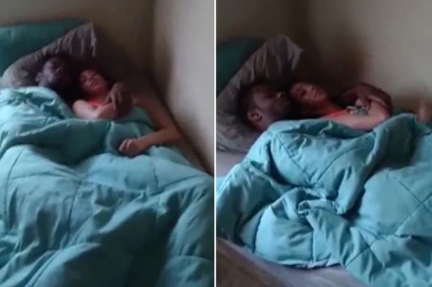 Traído filma momento em que flagra namorada com outro na cama