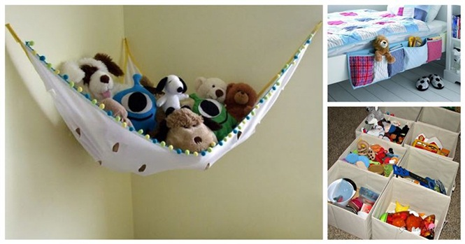 Formas criativas de organizar os brinquedos do seu filho