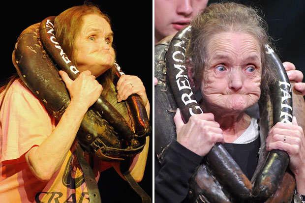Mulher mais feia do mundo morre