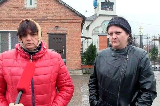 Svetlana Chernovalova dando entrevista