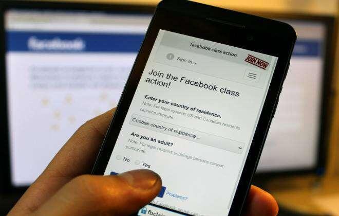 Facebook é processado por 25 mil usuários por violação de privacidade