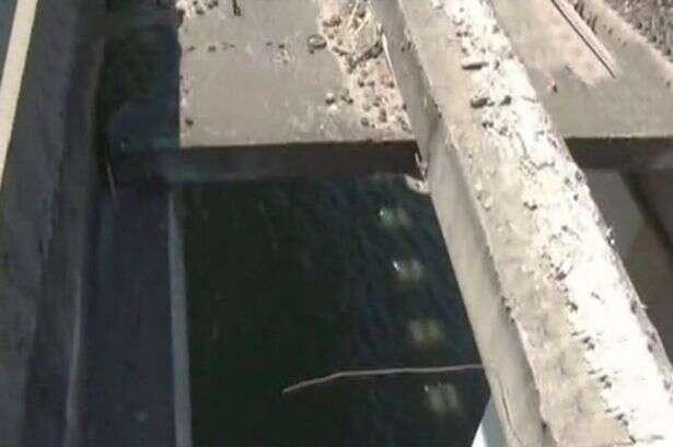 Motorista desesperado para defecar cai de ponte a mais de 120 metros de altura