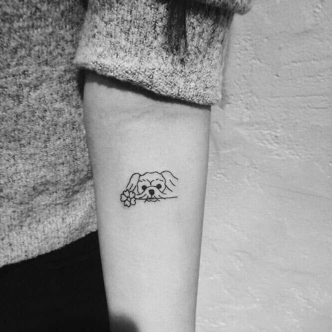 Tatuagens para homenagear seu bichinho