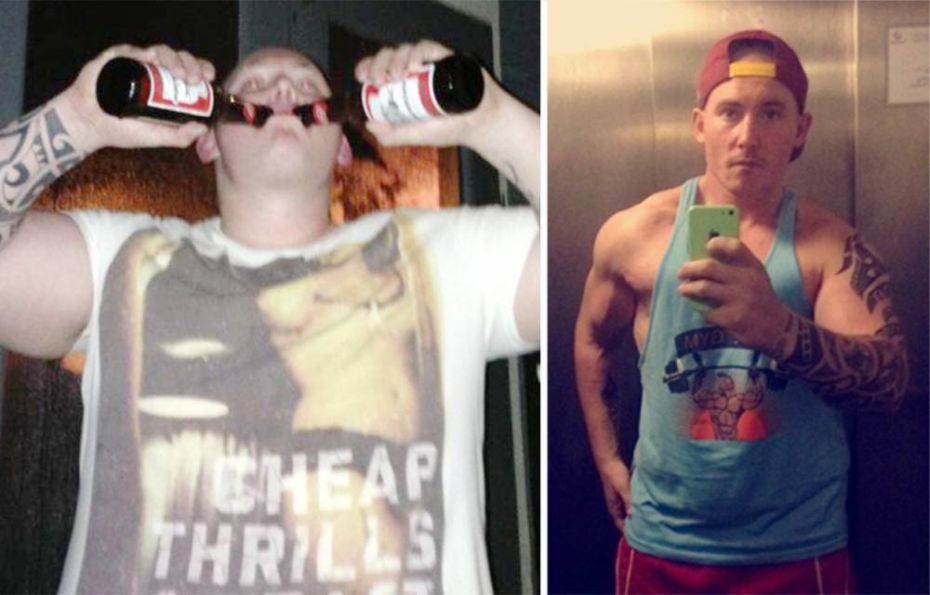 Homem perde 63 quilos após parar de beber cerveja por 1 ano