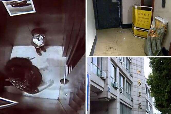 Mulher morre ao cair em poço de elevador depois de ser empurrado pelo filho de 2 anos