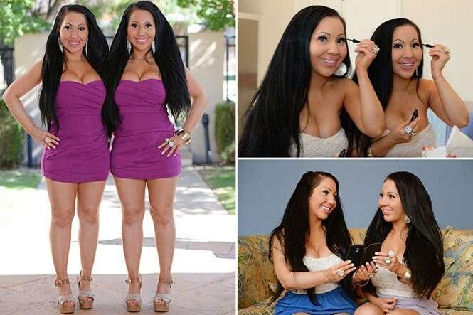 Conheça as gêmeas que compartilham o mesmo namorado