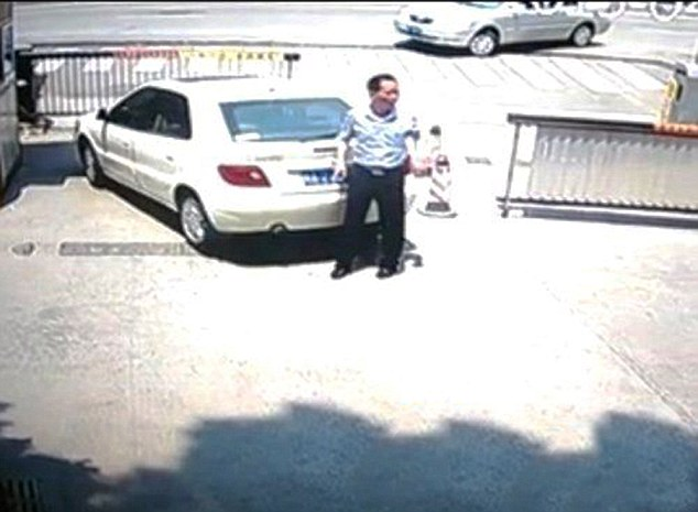Wife Flattens Hubby After Reversing Car Over Him
