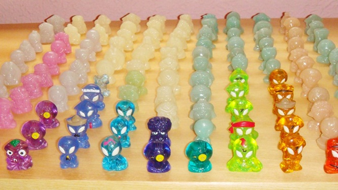 Brindes colecionáveis que fizeram sucesso entre as crianças