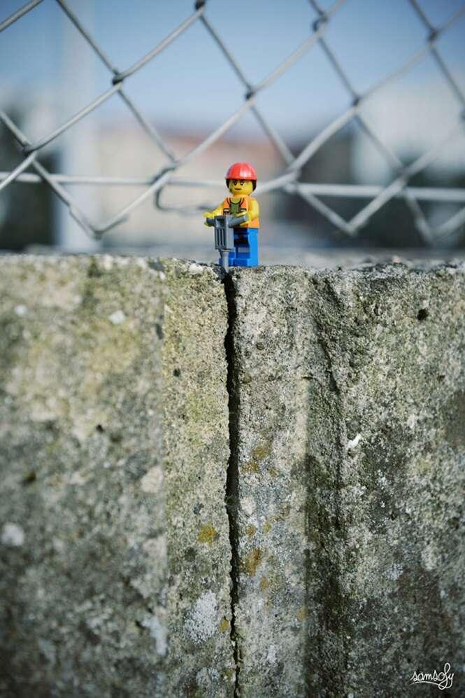 Fotos com Lego