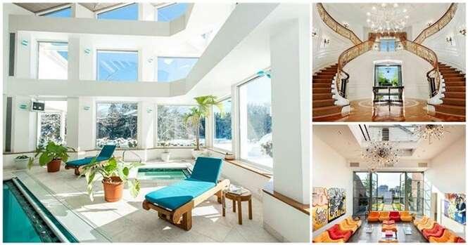 Salas incríveis encontradas em casas norte-americanas