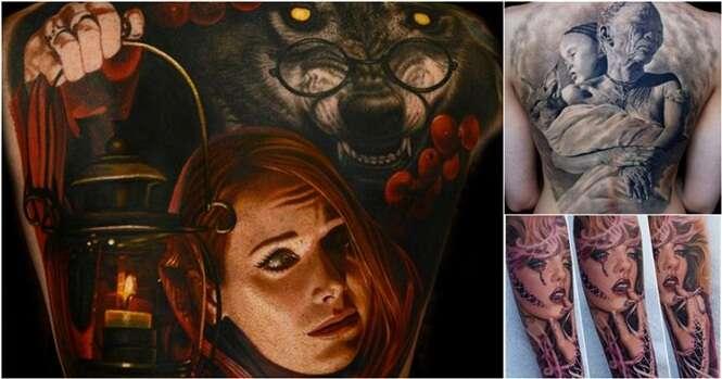 Imagens que você não vai acreditar que são tatuagens