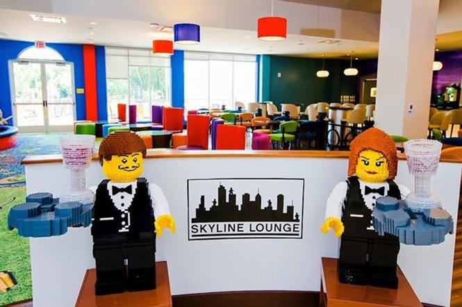 Hotel de Lego é inaugurado nos EUA