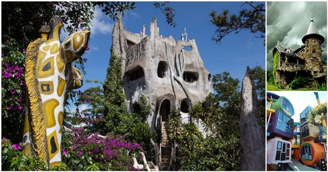 Casas fantásticas inspiradas no mundo das fantasias
