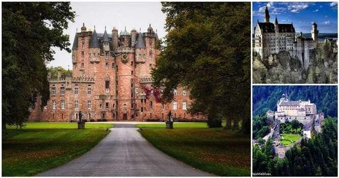 Os mais incríveis castelos que realmente existem