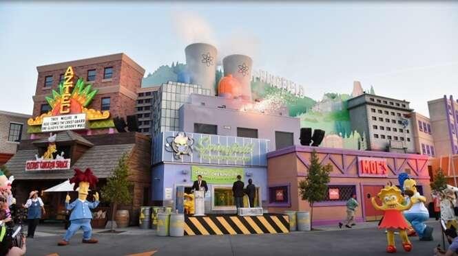 Cidade de Os Simpsons é inaugurada nos Estados Unidos