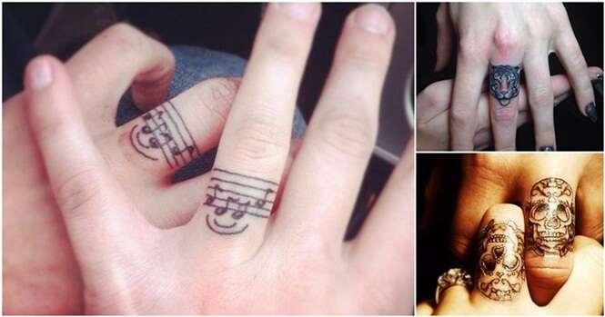 Ideias de tatuagens para os dedos que vão fazer você abandonar os anéis