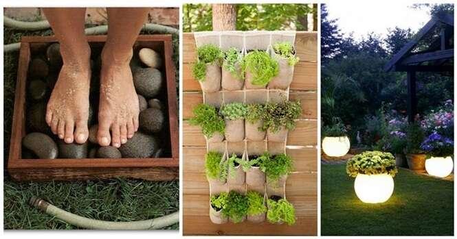 Ideias criativas para deixar seu jardim mais charmoso