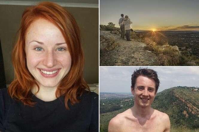 Homem viaja 12 mil km para conhecer namorada da internet e no primeiro encontro mulher morre ao cair de penhasco