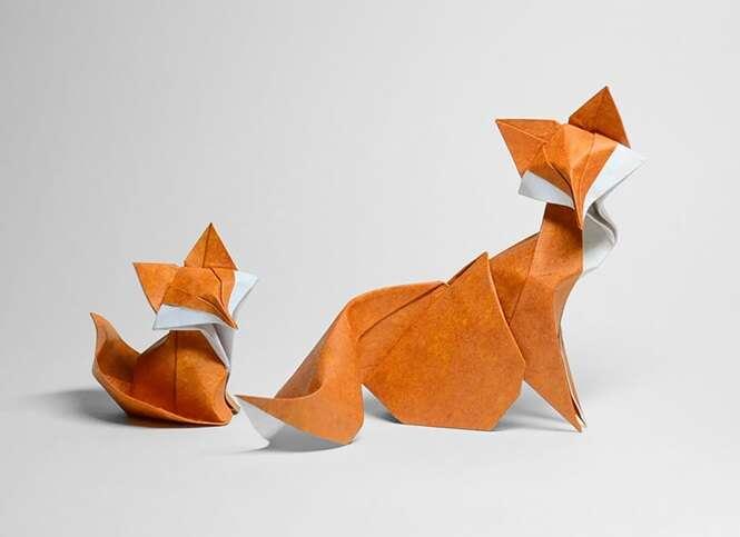 Origami curvo