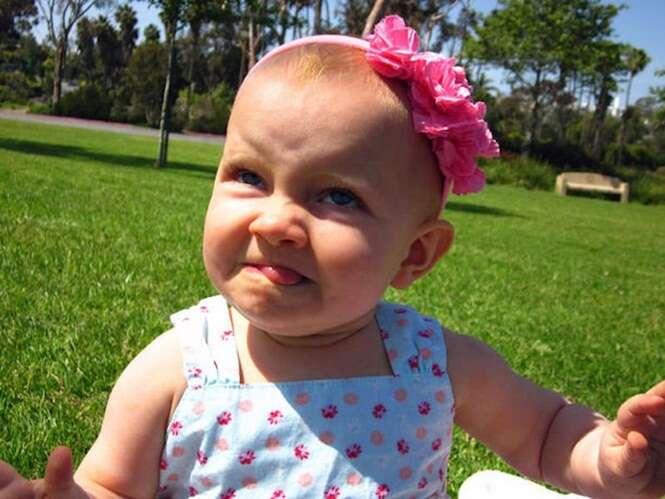 As mais engraçadas fotos de bebês
