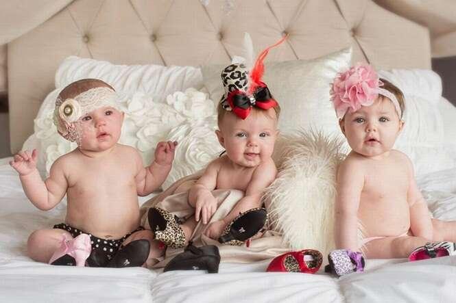 Empresa começa a vender sapatos de salto alto para bebês e notícia vem causando grande polêmica