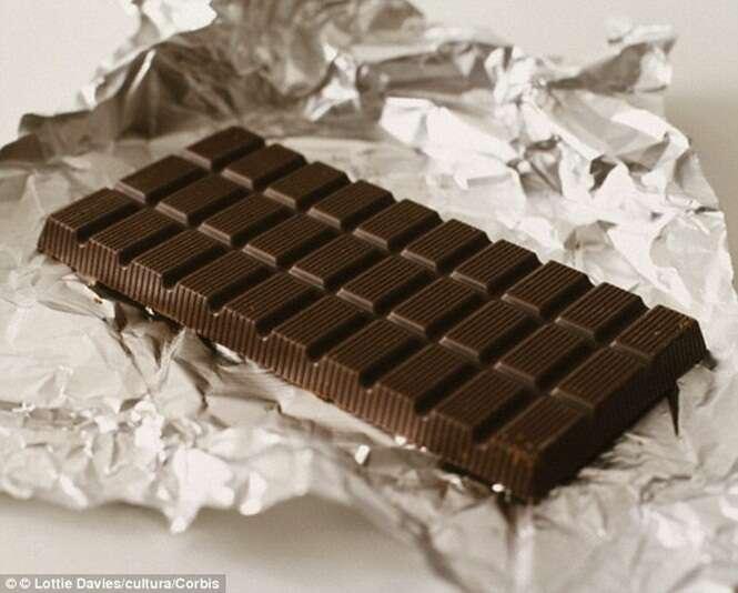 Estudo diz que chocolate escuro aumente a concentração e reduz a pressão arterial