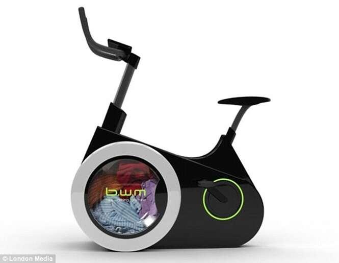 Máquina que lava roupa suja enquanto você pedala é apresentada após ser criada por chineses