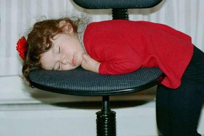 Crianças que não são capazes de controlar o sono
