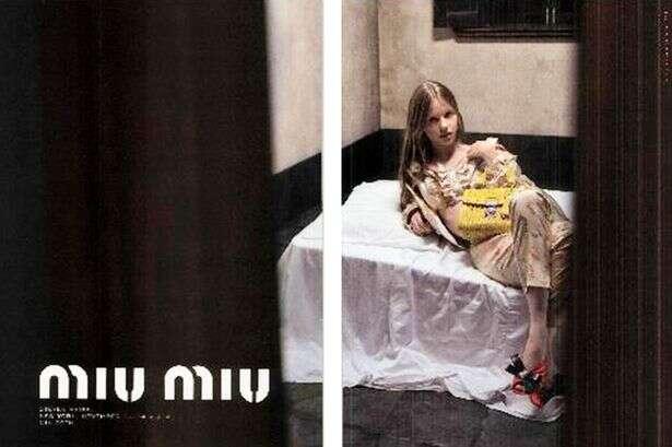 Modelo sensual com rosto de criança faz propaganda de moda ser censurada