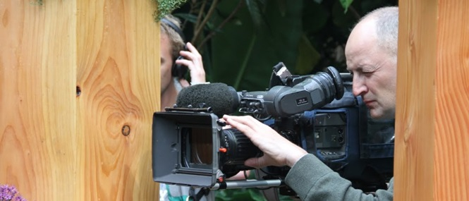 Erros de filmes que mostraram equipe de filmagem durante as gravações