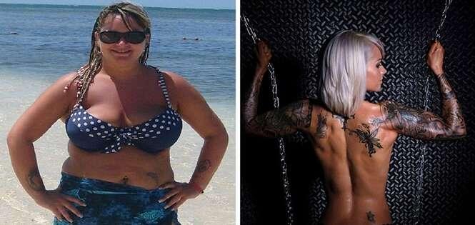 Obesa muda completamente seu corpo após namorado recusar se casar com ela devido a seu peso