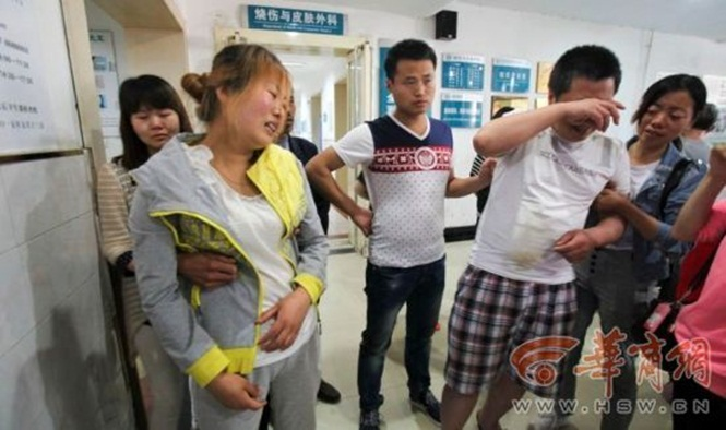 Menino tem braço amputado após urinar em subestação de energia