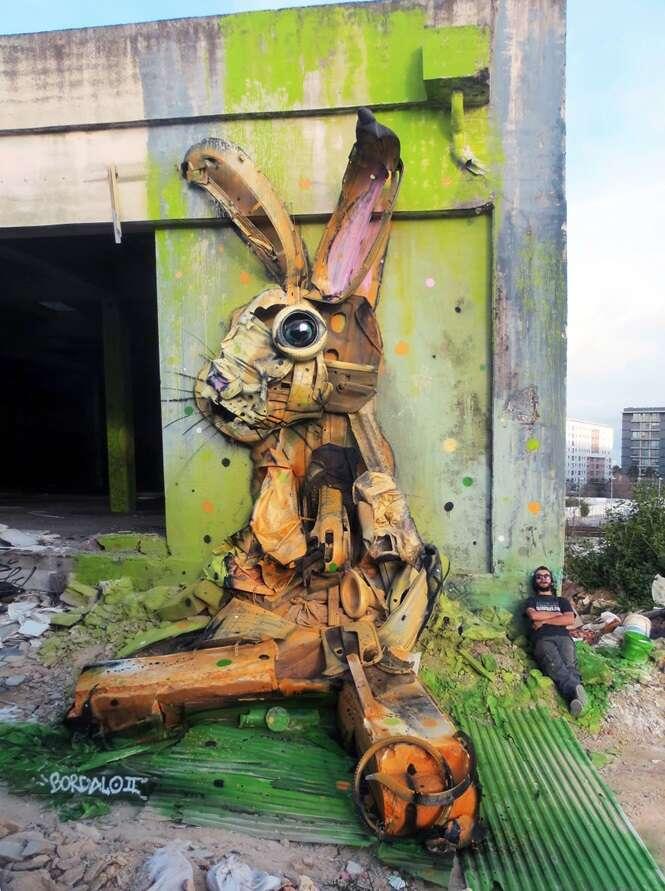Esculturas de animais