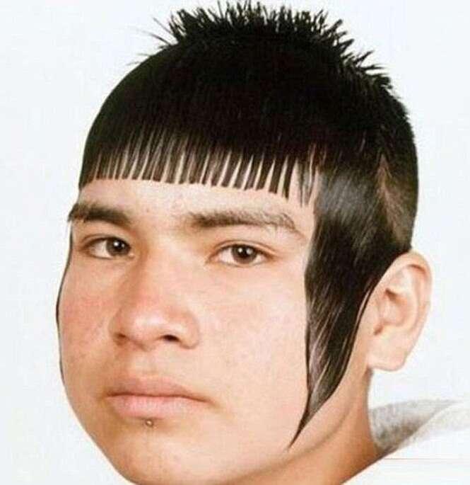 Os piores cortes de cabelo de todos os tempos