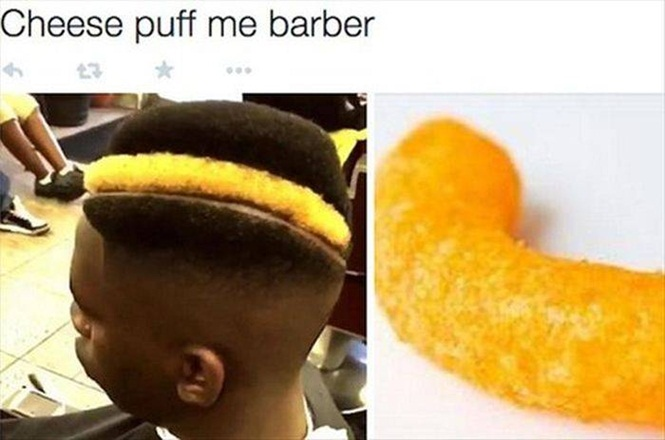 Silly Haircuts  sourced by Pej © Imgur