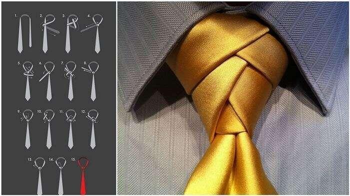Formas diferentes de dar nó de gravata