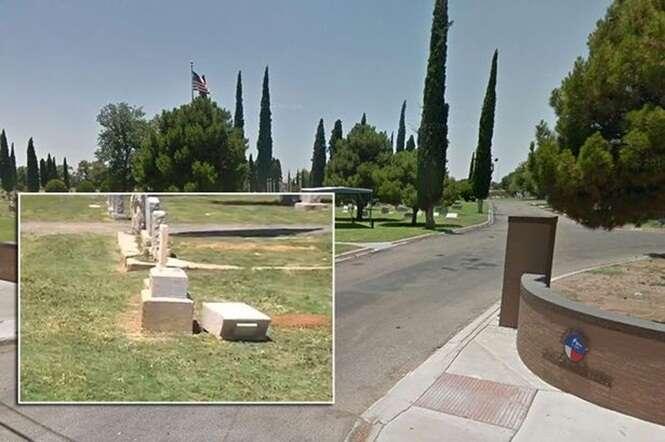 Menino morre após lápide de cemitério cair em sua cabeça