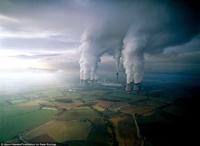 Imagens que confirmam o efeito devastador da humanidade sobre a Terra