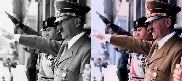 Fotos históricas que foram coloridas para ganharem resultados surpreendentes