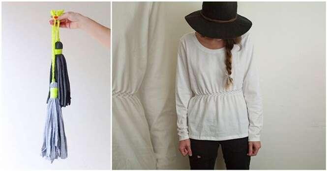 Formas de reaproveitar camisas velhas