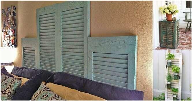 Formas de reaproveitar as janelas antigas da sua casa
